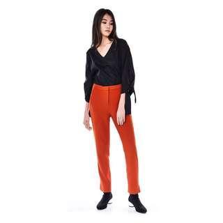 🚚 Editor's Market Cidro Cigarette Pants in Burnt Orange