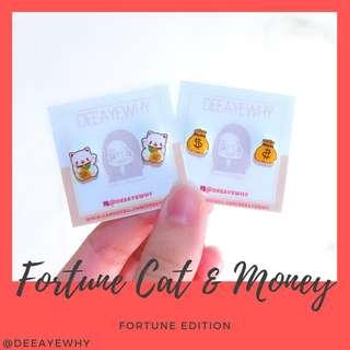 Fortune Ear Studs