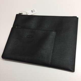 TOD's travel document holder 手提文件袋 ipad袋