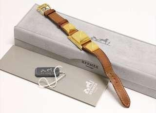 100%real HERMES watch with BOX and 保証書