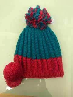 🚚 韓國帶回的可愛毛帽