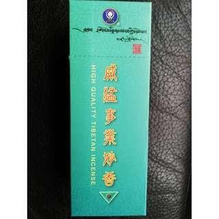 🚚 甘丹文物^^ 西藏香王 威猛事業妙香( 臥香)
