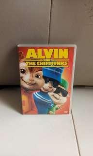 Alvin and the Chipmucks movie DVD