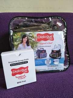 Tas Bayi Dialogue, cooler bag, (free ice gel, 2 storage bottles)