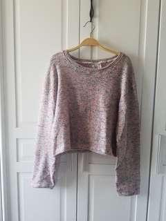 🌞 REPRICED: Vintage Style Cropped Sweater