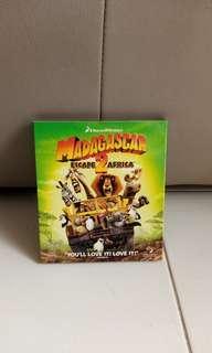 Madagascar Escape 2 Africa movie CD