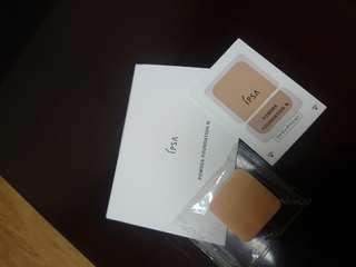 Ipsa powder foundation sample