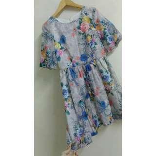現貨🍁超美的碎花洋裝💕氣質又甜美💕親膚舒服🌼
