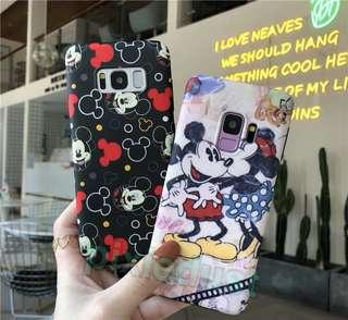 mickey and minnie mouse couple phone casing [ SAMSUNG ]