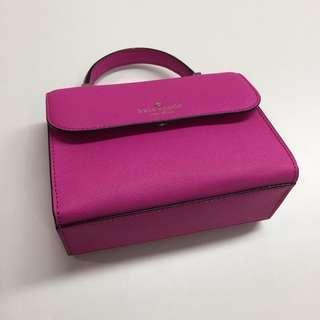 kate spade pink / megenta handbag 桃紅色 / 粉紅色 手袋 手挽袋