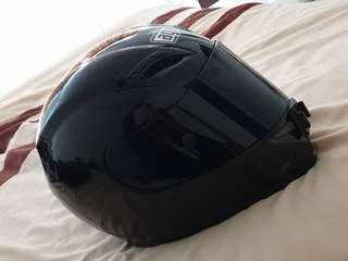 AGV Grid Plain Gloss Black Helmet