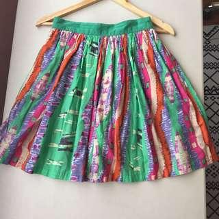 Nava Pretty Colorful Skirt