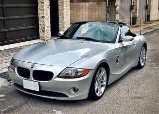 BMW 2003 z4 3.0i 敞篷 狀況好 無待修