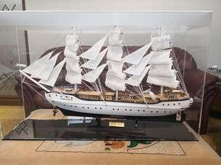 Framed Ship Model