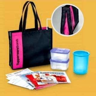BN Tupperware Recyclable Tote Bag only