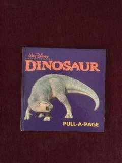 Dijual buku 'DINOSAUR' ....pull a page(contoh di foto)+jokebook