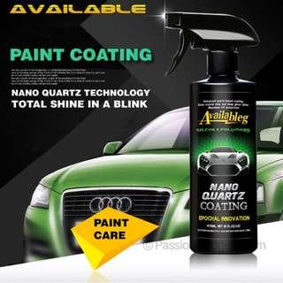 🚚 Nano Quartz Coating Spray for Car / Scooters / Paint Surface