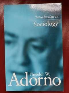 Adorno books
