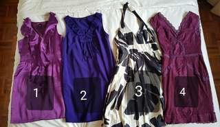 🚚 Bundle Deal! Pre Loved Dresses ALL for $25!