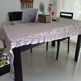 MOVING OUT SALE - DINING TABLE & CHAIRS (LORENZO)