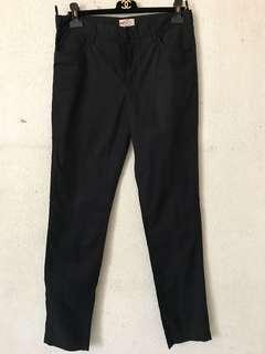 Prada cotton slim fit trousers