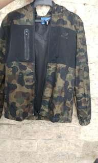 Adidas windbreaker jacket from japan
