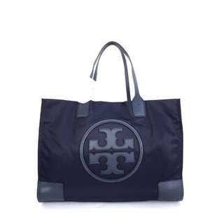 Tas Branded Tory Burch Ella Nylon Tote Big - Navy
