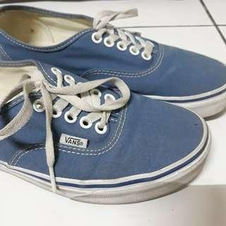 Vans Authentic Blue size EU 39 US 8.5