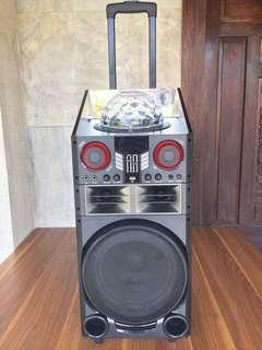 Bluetooth Rechargeable DJ PA Speaker