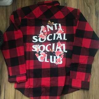🚚 Anti Social Social Club Kkoch Flannel