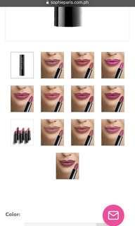 Sophie Martin Pink Lipstick collection