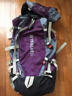 Tas gunung carrier Avtech 60l keril hiking bag