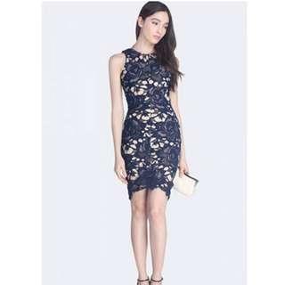 🚚 Fayth Primrose Crochet Dress (Size S)