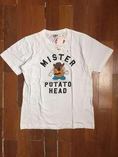 Kaos Uniqlo Disney Pria Original Mister Mr Potato Toy Story
