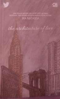 The Architecture of Love Novel 💖
