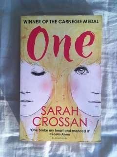🚚 One by Sarah Crossan Young Adult Fiction Poetry