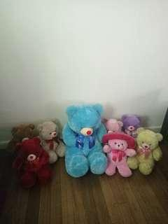Free stuffed toys blue magic in every purchase of my items