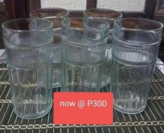 5 PC SET DRINKING GLASS