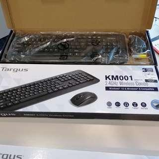 Targus Wireless Keyboard + Mouse (almost new!)