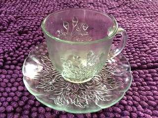 Tea Cups & Saucers (6 set)