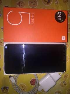 Xiaomi Redmi 5 (2nd MULUS DAN MURAH!!!)