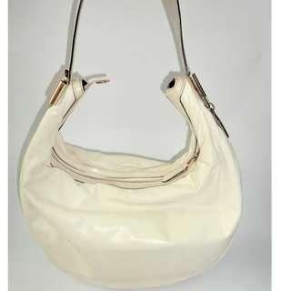 Gucci Vintage Cream Hobo Bag