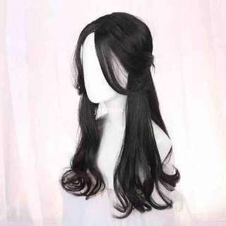 Long curly wig 65cm
