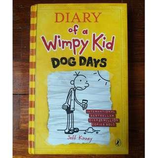 Diary of a Wimpy Kid: Dog Days by Jeff Kinney
