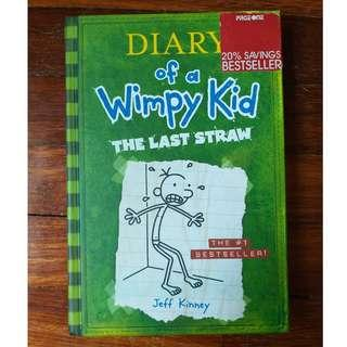 Diary of a Wimpy Kid: The Last Straw by Jeff Kinney #STB50