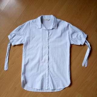 Long stripe blouse