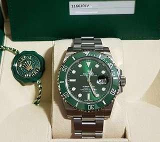 Rolex Submariner Hulk 116610LV