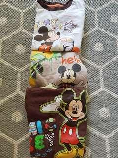 Mickey mouse tops for boys