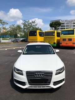 Audi A4 Sedan 1.8 TFSI mu Ambition Auto (White)