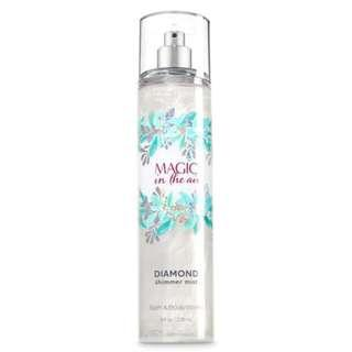 Bath and Body Works Diamond Shimmer Mist Magic in the Air 236mL